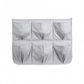 Organizator cu buzunare pentru pat Klups gri