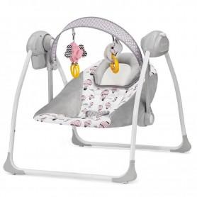 Кресло-качалка KinderKraft Flo розовый