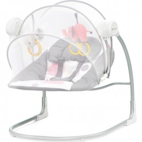 Кресло-качалка KinderKraft Minki розовый