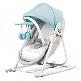 Колыбель-шезлонг 5-в-1 KinderKraft Unimo голубой
