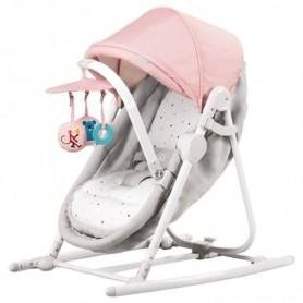 Колыбель-шезлонг 5-в-1 KinderKraft Unimo розовый
