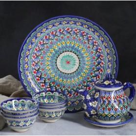 Чайный набор Риштан на 6 персон