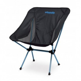 Scaun pliabil Pocket Chair, negru-albastru 661095