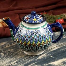 Чайник керамический Риштан 1л