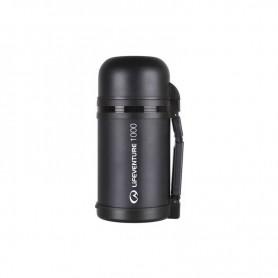 Термос с вакуумом и ручкой Lifeventure 9650 черный 1000мл