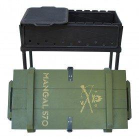 Gratar pliabil MANGAL 570 550x300mm