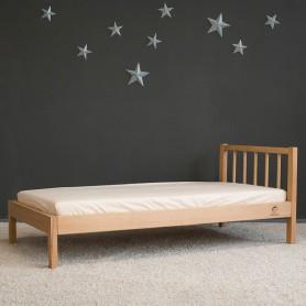Детская кровать BabyTime Junior 160x80см, цвет натуральный