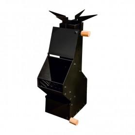 Печь ракетного типа для кемпинга