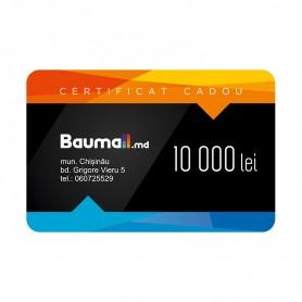 Certificat cadou Baumall 10000 lei + felicitare