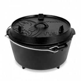 Ceaun - cuptor din fonta cu picioare Petromax Dutch Oven FT9