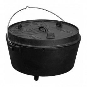 Ceaun - cuptor din fonta cu picioare Petromax Dutch Oven FT18