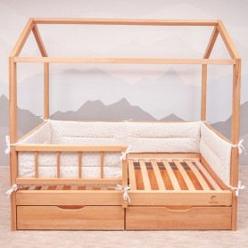 Borduri de protectie BabyTime BD002 pentru pat 160x80cm