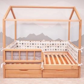 Бортики защитные BabyTime BD004 для кроватки 160х80см