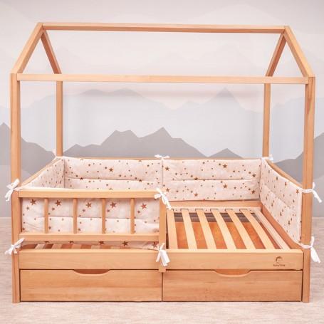 Borduri de protectie BabyTime BD005 pentru pat 160x80cm