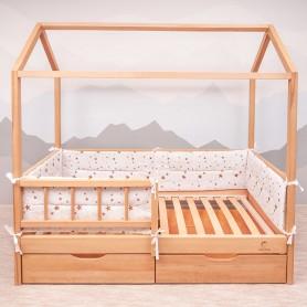 Бортики защитные BabyTime BD006 для кроватки 160х80см