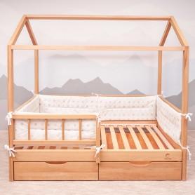 Бортики защитные BabyTime BD007 для кроватки 160х80см