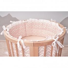 Borduri de protectie BabyTime BDTR003 pentru pat 72x72cm/120x72cm