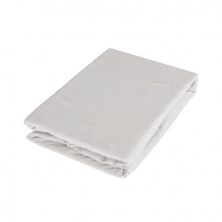 Cearsaf cu elastic BabyTime C004 160x80x25cm, gri