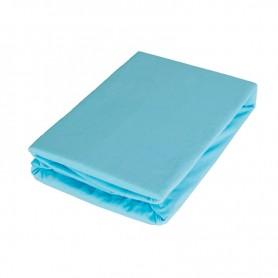Cearsaf cu elastic BabyTime C005 160x80x25cm, albastru