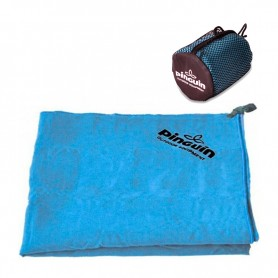 Полотенце Pinguin Micro Towel M 616354 40х80см синий