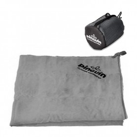 Полотенце Pinguin Micro Towel S 616187 40х40см серый