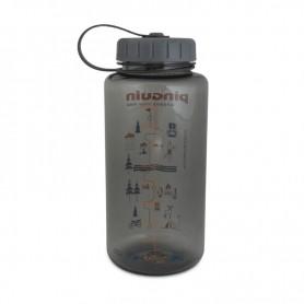 Бутылка для воды Pinguin Tritan Fat bottle 806687 1л серое