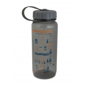 Бутылка для воды Tritan Slim Bottle 657487 0,65 л серое