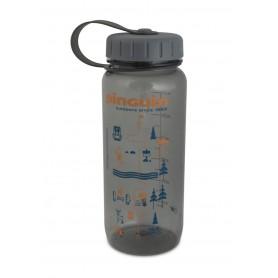 Sticla Tritan Slim Bottle 657487 0,65 L gri